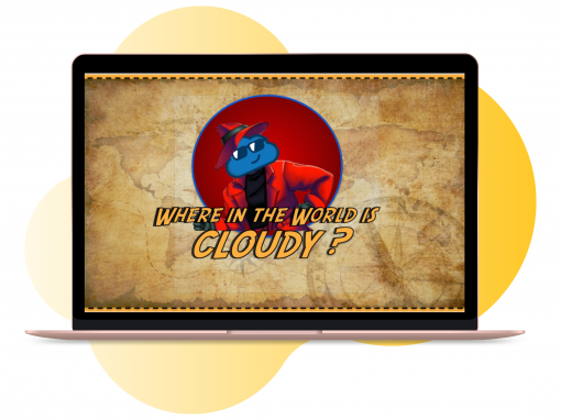E-learning Game – Where's Cloudy?